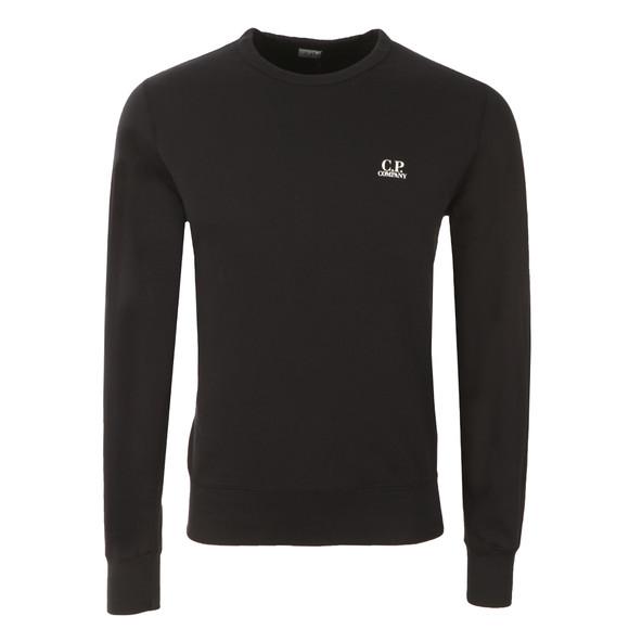 CP Company Mens Blue Printed Small Logo Sweatshirt main image