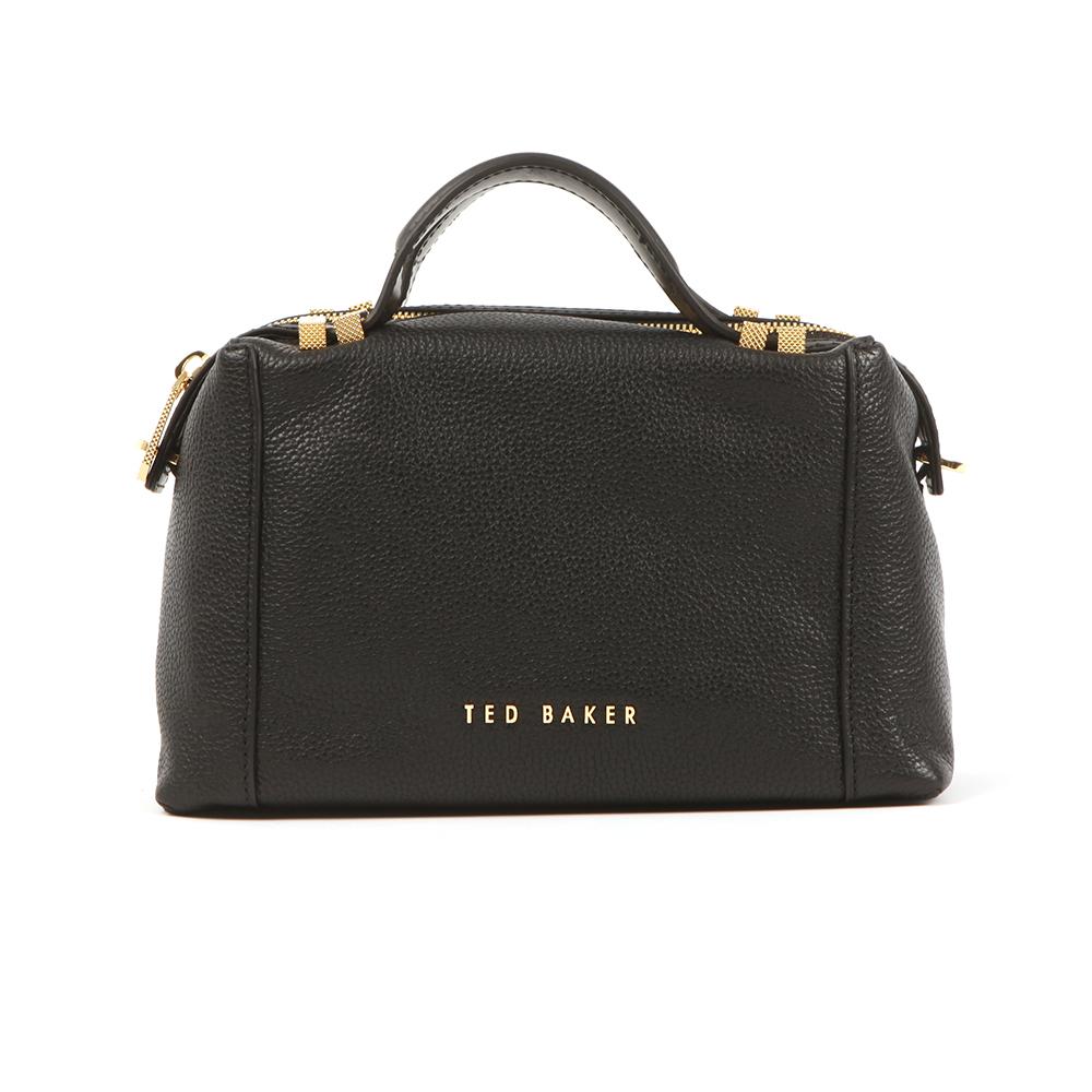 ef9d5c130 Ted Baker Womens Black Albett Pop Handle Small Tote Bag main image. Loading  zoom