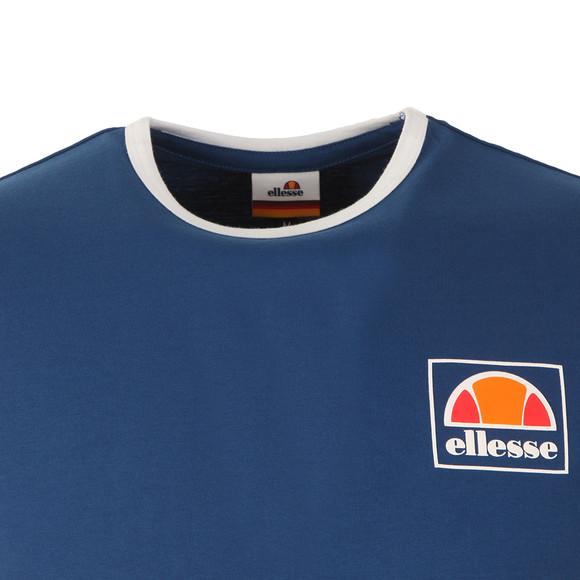 Ellesse Mens Blue Montefello Ringer T Shirt main image