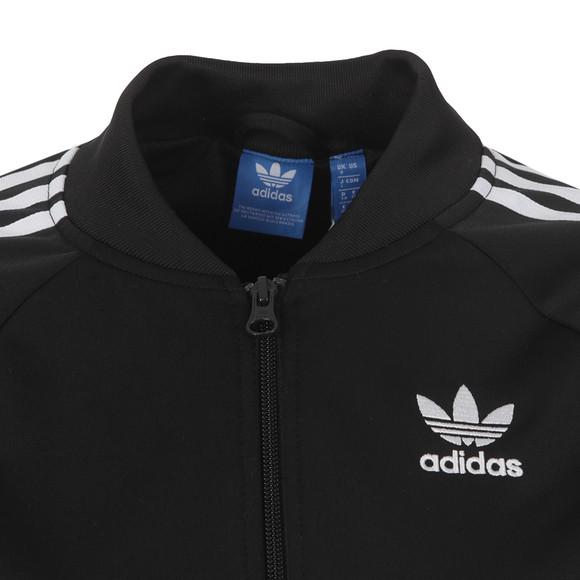 Adidas Originals Womens Black Superstar Track Top main image