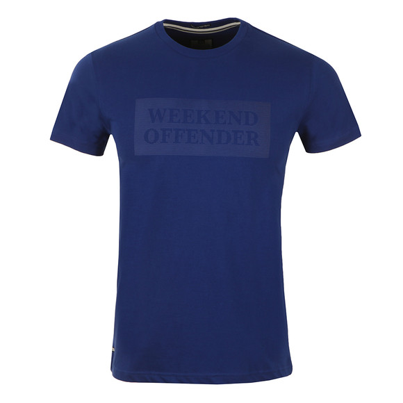 Weekend Offender Mens Blue Bishop Tee main image