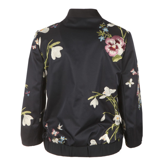 Ted Baker Womens Blue Bloomah Spring Meadow Bomber main image