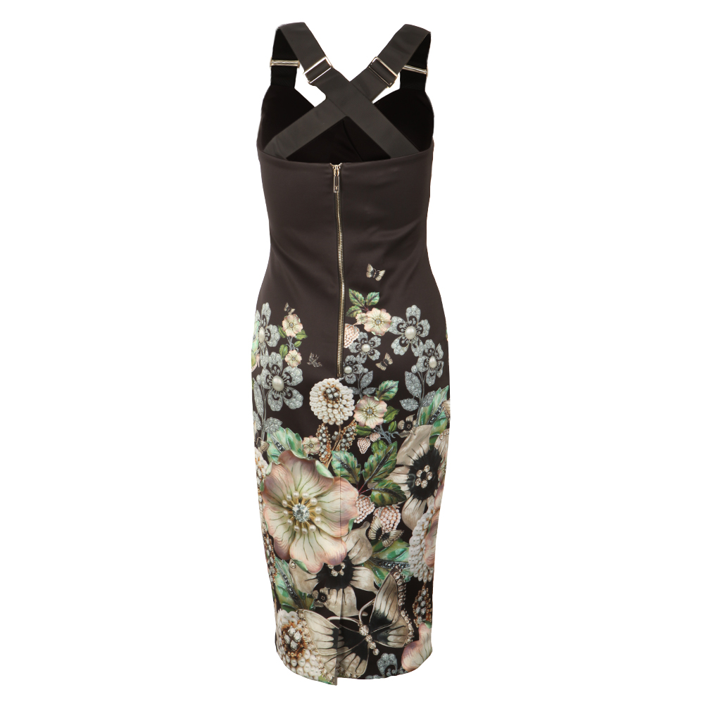 Jayer Gem Gardens Bodycon Dress main image