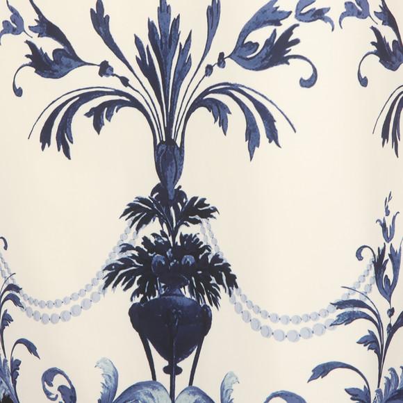 Ted Baker Womens Blue Molliat Persian Halterneck Tunic Dress main image