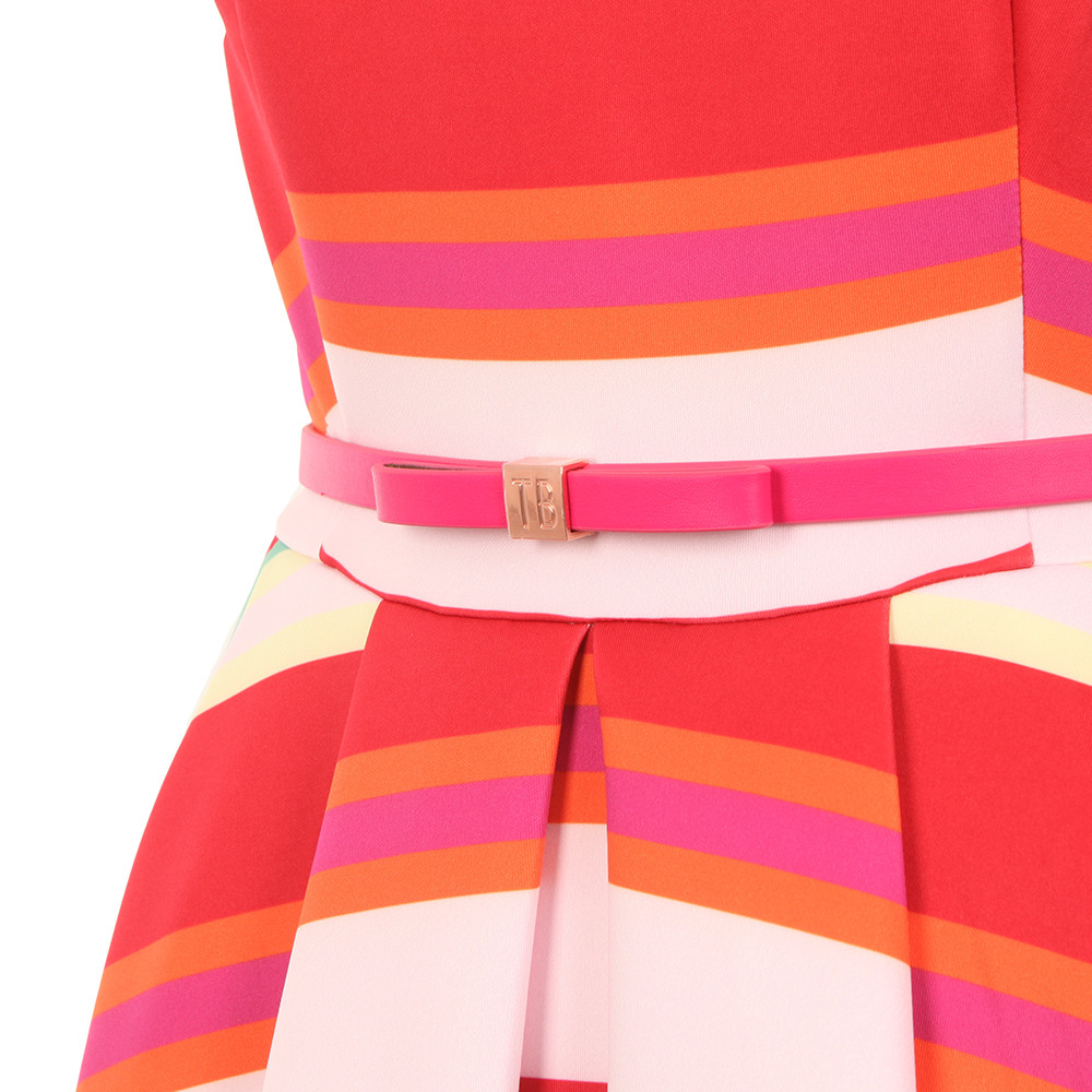Mayya Pier Stripe Skater Dress main image