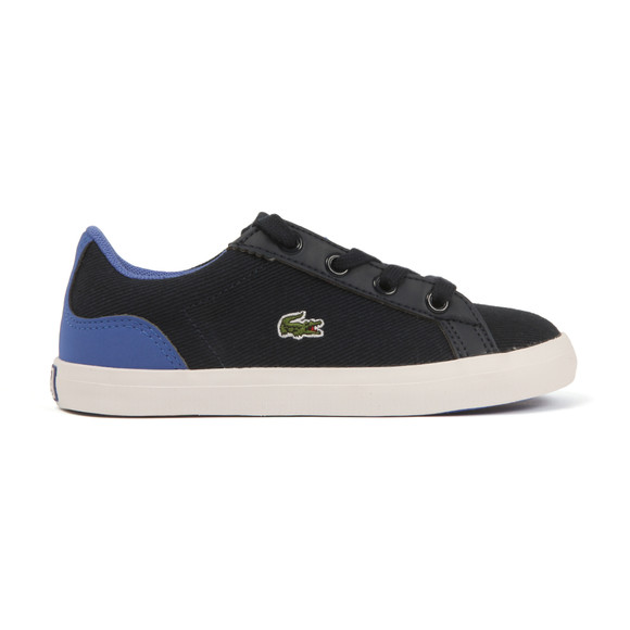 Lacoste Boys Blue Lerond 117 Canvas Trainer main image