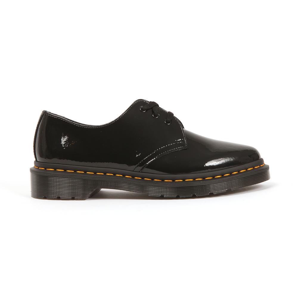 f73f333b20 Dr. Martens Womens Black Dupree Patent Lamper Shoe