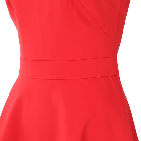 Ted Baker Womens Orange Eleese Mesh Detail Skater Dress main image