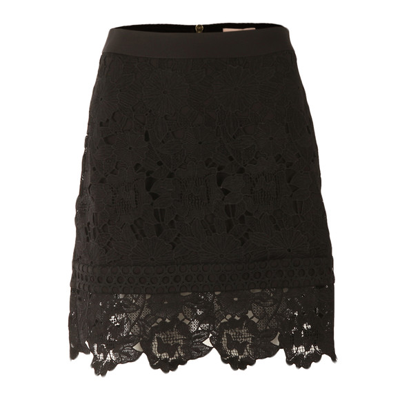 Ted Baker Womens Black Beay Lace Mini Skirt main image