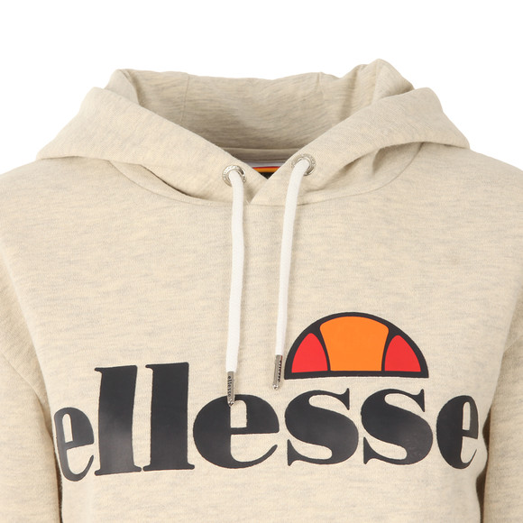 Ellesse Womens Off-white Torices Overhead Hoody main image