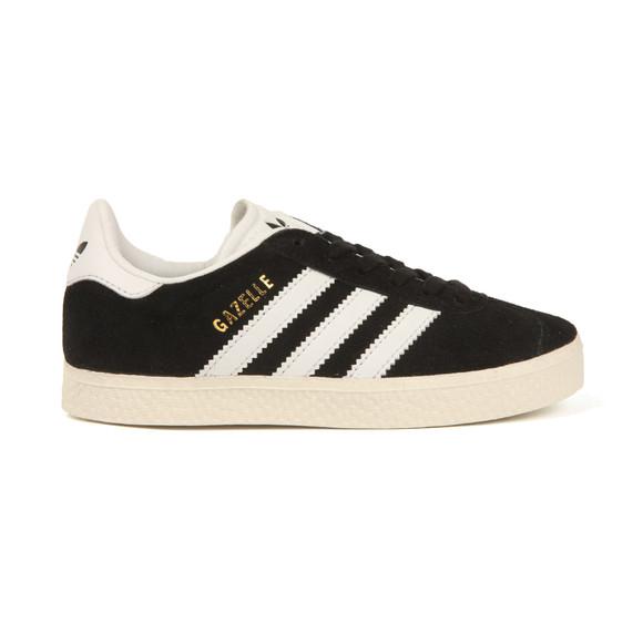 Adidas Originals Boys Black Gazelle Trainer main image