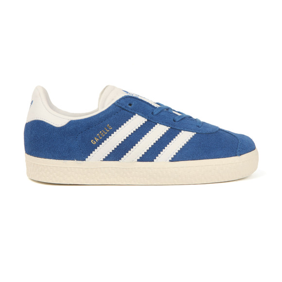 Adidas Originals Boys Blue Gazelle Trainer main image