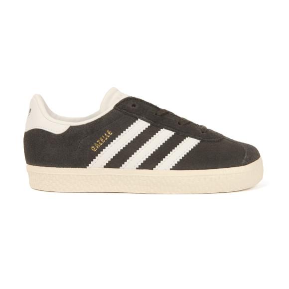 Adidas Originals Boys Grey Gazelle Trainer main image