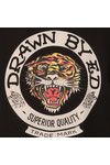 Ed Hardy Mens Black Drawn Roar Hoody