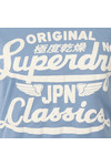 Superdry Womens Blue Icarus Duo Entry Tee