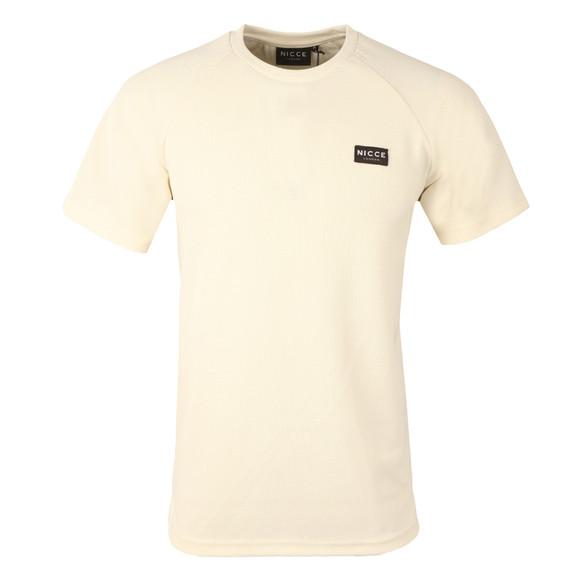 Nicce Mens Grey Fairway T Shirt main image