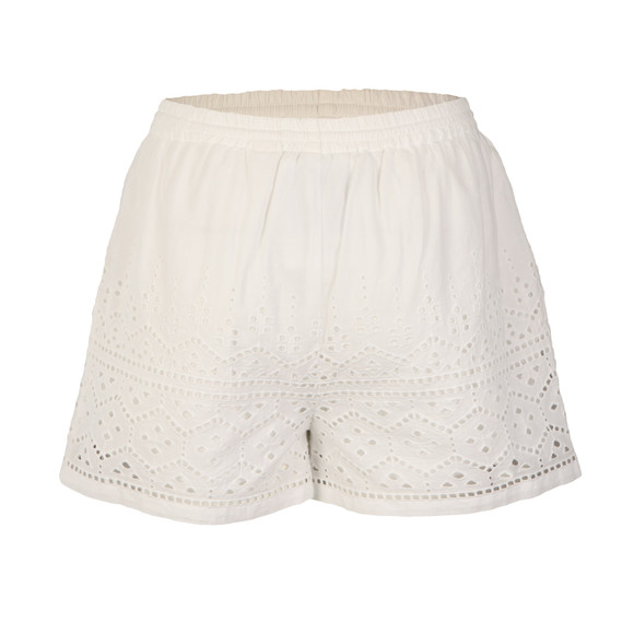 Superdry Womens White Pier Schiffli Short main image