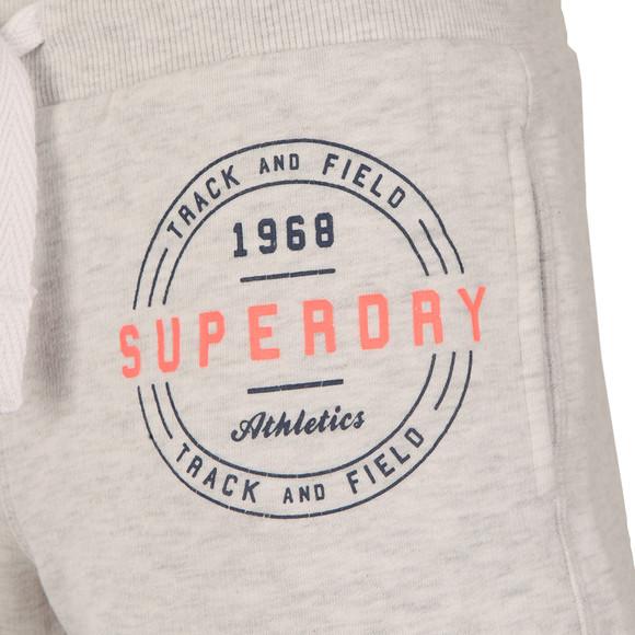 Superdry Womens Grey Track & Field Sweat Short main image