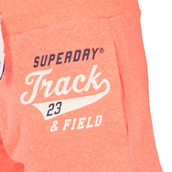 Superdry Womens Orange Track &  Field Lite Short main image