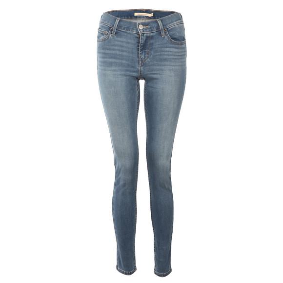Levi's Womens Blue 710 Super Skinny Jean main image