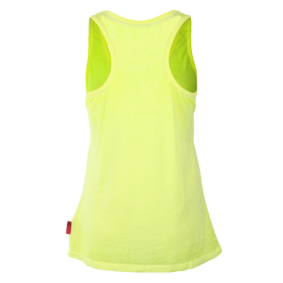 Superdry Womens Yellow Osaka Brand Entry Vest main image