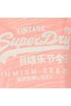 Superdry Womens Pink Premium Goods BF Tee