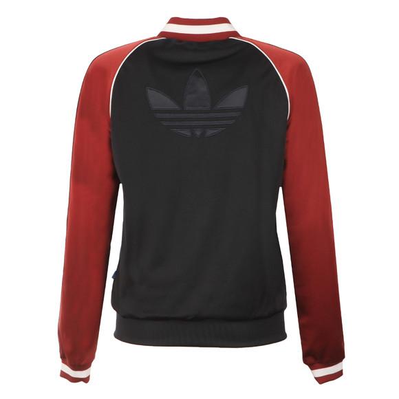 Adidas Originals Womens Blue Superstar Track Top main image
