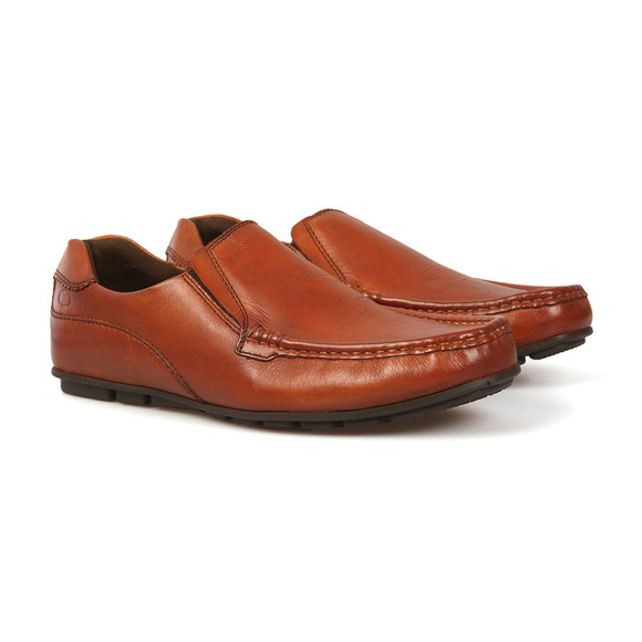 Base London Mens Brown Cuba Shoe main image