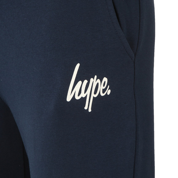 Hype Mens Blue Script Jogger main image