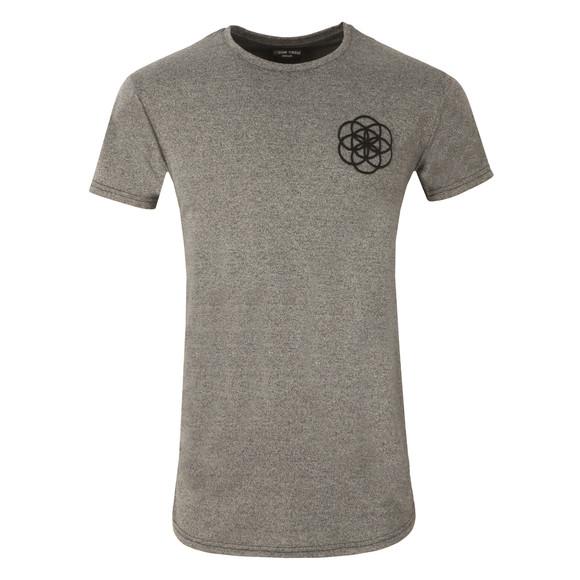 Scar Tissue Mens Grey Gym Curved Hem T Shirt main image