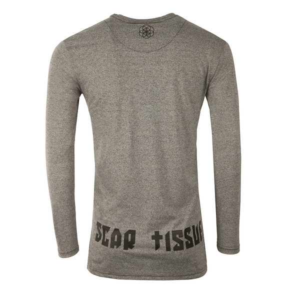 Scar Tissue Mens Grey Gym Long Sleeve Undergarment main image
