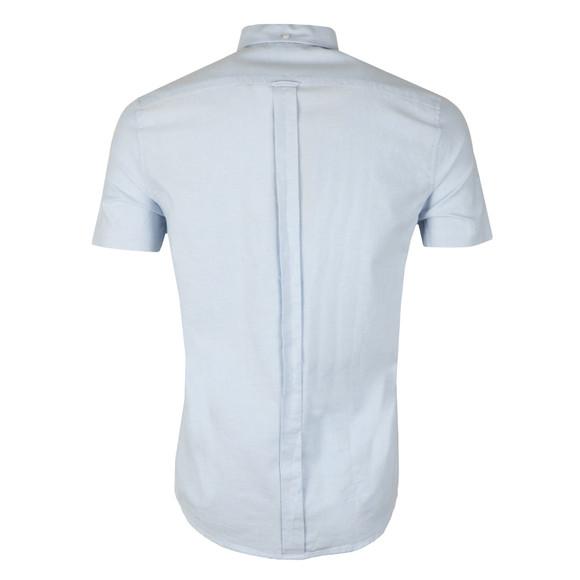 Ben Sherman Mens Blue S/S Classic Oxford Shirt main image