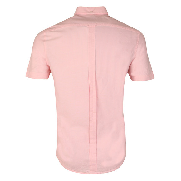 Ben Sherman Mens Pink S/S Classic Oxford Shirt main image