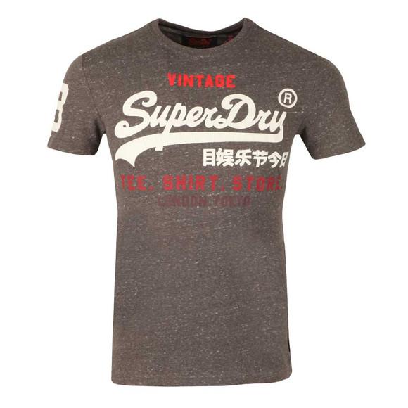 Superdry Mens Grey Shirt Shop Tee main image