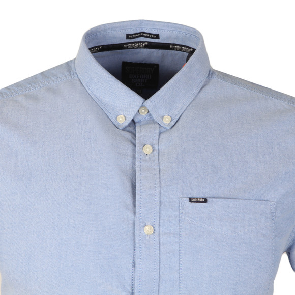 Superdry Mens Blue Ultimate S/S Oxford Shirt main image