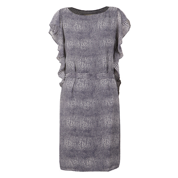 Michael Kors Womens Blue Zephyr Reptile Dress main image