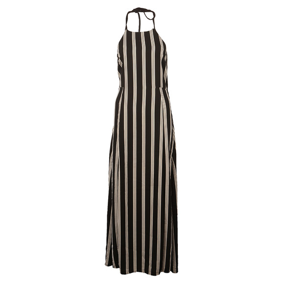 Superdry Womens Black Deck Stripe Maxi Dress main image