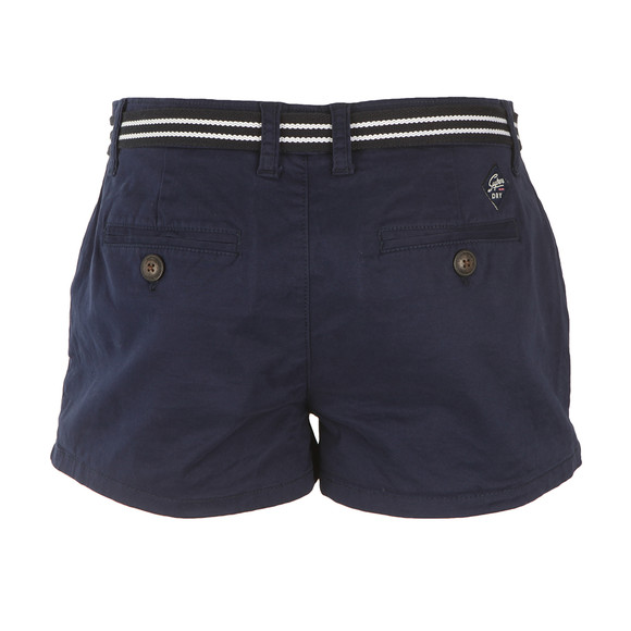 Superdry Womens Blue International Hot Short main image