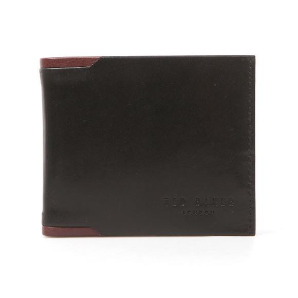 Ted Baker Mens Black Leather Bifold Wallet main image