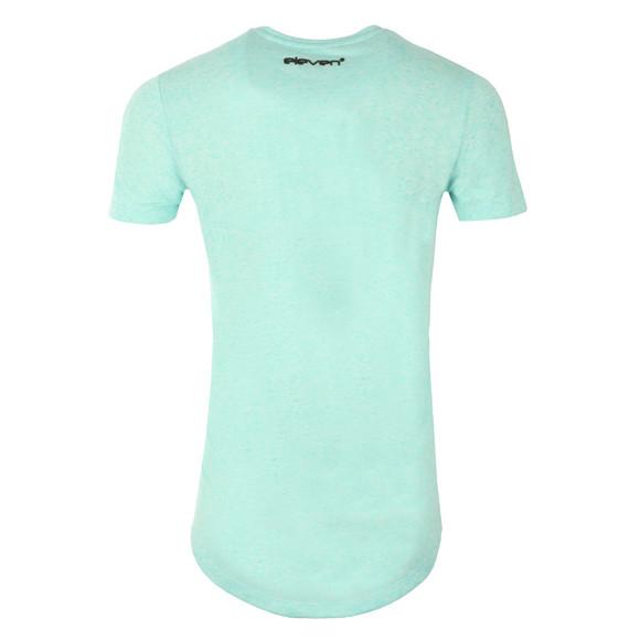 Eleven Degrees Mens Blue Composite Short Sleeve T-Shirt main image