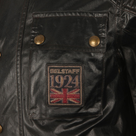 Belstaff Mens Black Champion Patch Blouson main image