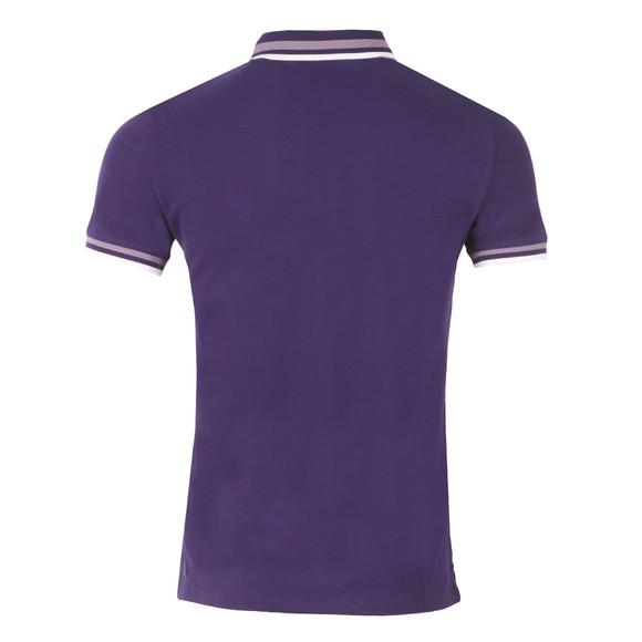 Armani Jeans Mens Purple 3Y6F20 Tipped Polo Shirt main image