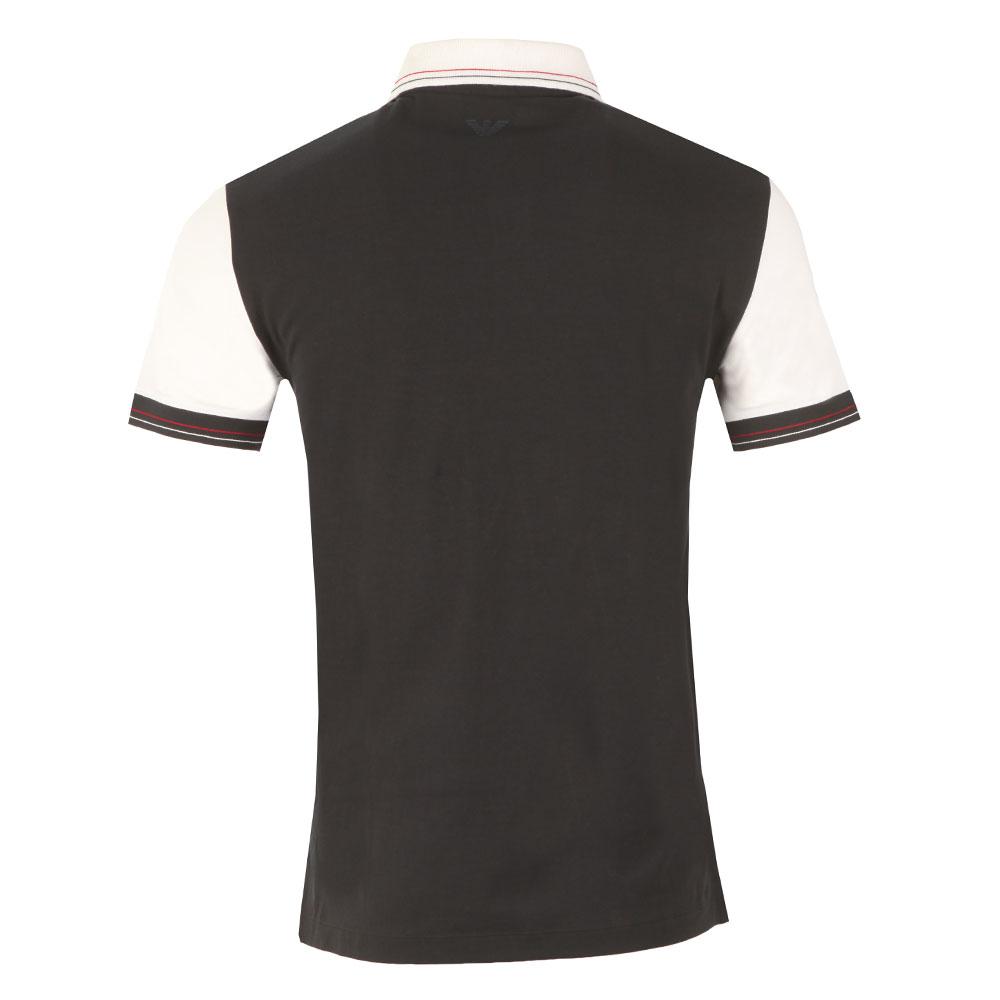 Shield Logo Stripe Polo Shirt main image