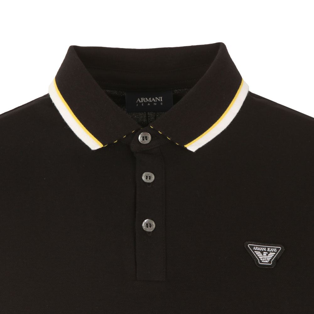 3Y6F27 Tipped Polo Shirt main image