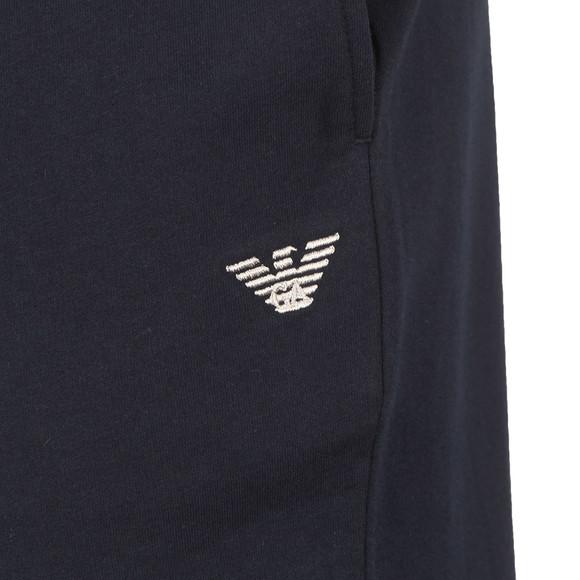 Emporio Armani Mens Blue Embroidered Logo Sweatpant main image