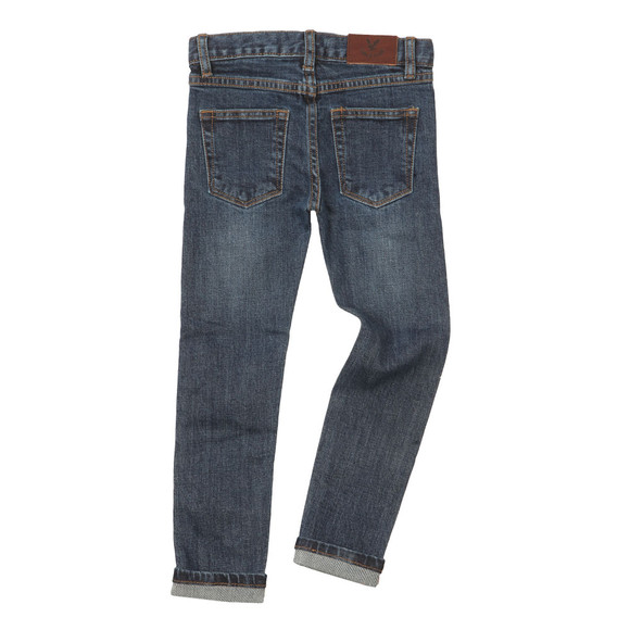 Lyle And Scott Junior Boys Blue Selvage Skinny Jean main image