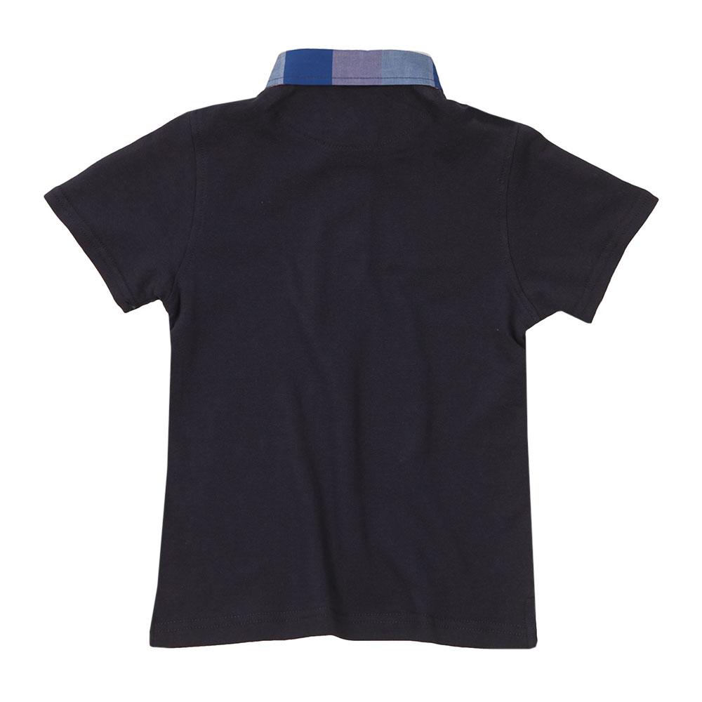 Check Collar Polo Shirt main image