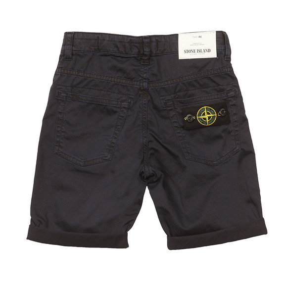 Stone Island Junior  Boys Blue Chino Short main image