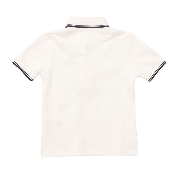 Boss Boys White Tipped Polo Shirt main image