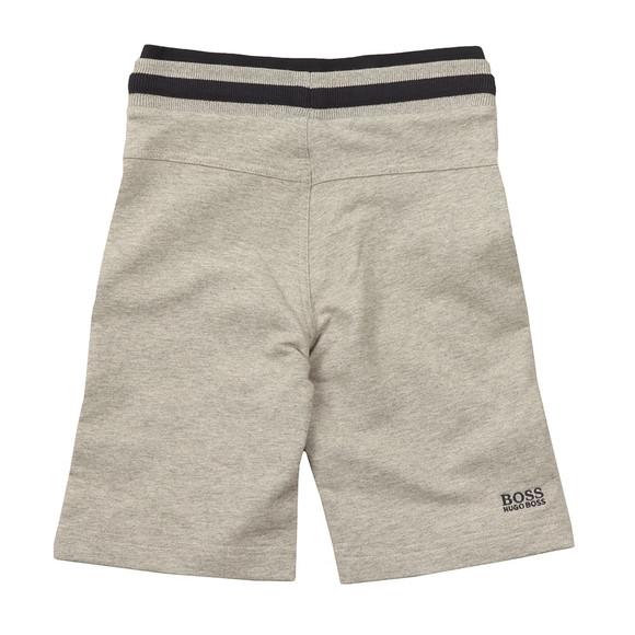 Boss Boys Grey Boys Logo Jersey Shorts main image